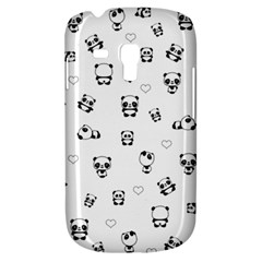 Panda Pattern Galaxy S3 Mini by Valentinaart