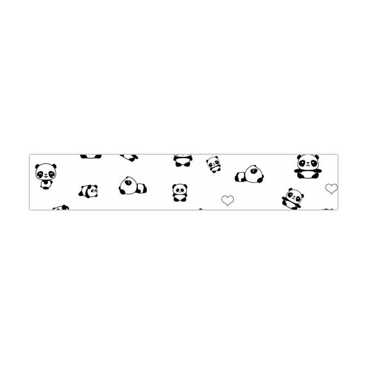 Panda pattern Flano Scarf (Mini)