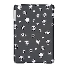 Panda Pattern Apple Ipad Mini Hardshell Case (compatible With Smart Cover) by Valentinaart