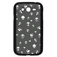 Panda Pattern Samsung Galaxy Grand Duos I9082 Case (black)