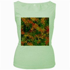 Fun,fantasy And Joy 3 Women s Green Tank Top by MoreColorsinLife