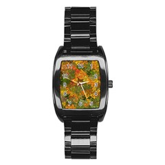 Fun,fantasy And Joy 3 Stainless Steel Barrel Watch by MoreColorsinLife