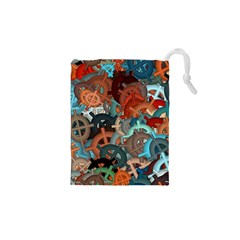 Fun,fantasy And Joy 2 Drawstring Pouches (xs)  by MoreColorsinLife