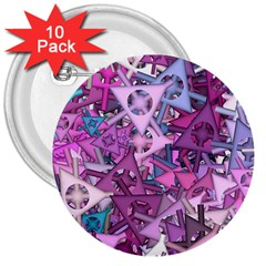 Fun,fantasy And Joy 7 3  Buttons (10 Pack)  by MoreColorsinLife