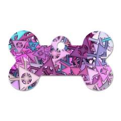 Fun,fantasy And Joy 7 Dog Tag Bone (one Side)