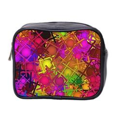 Fun,fantasy And Joy 5 Mini Toiletries Bag 2 Side by MoreColorsinLife