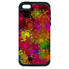Fun,fantasy And Joy 5 Apple Iphone 5 Hardshell Case (pc+silicone) by MoreColorsinLife
