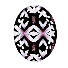 Japan Is A Beautiful Place In Calm Style Oval Filigree Ornament (two Sides) by pepitasart