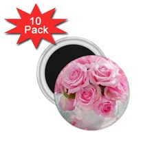 Pink Roses 1 75  Magnets (10 Pack)  by 8fugoso