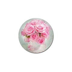 Pink Roses Golf Ball Marker by 8fugoso