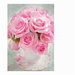 Pink Roses Small Garden Flag (two Sides) by 8fugoso