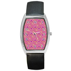 Universe 1 Pattern Barrel Style Metal Watch by Cveti