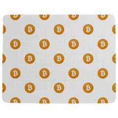 Bitcoin Logo Pattern Jigsaw Puzzle Photo Stand (rectangular) by dflcprints