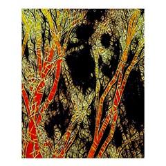 Artistic Effect Fractal Forest Background Shower Curtain 60  X 72  (medium)  by Amaryn4rt