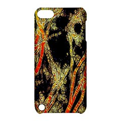 Artistic Effect Fractal Forest Background Apple Ipod Touch 5 Hardshell Case With Stand by Amaryn4rt