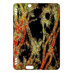Artistic Effect Fractal Forest Background Kindle Fire Hdx Hardshell Case by Amaryn4rt