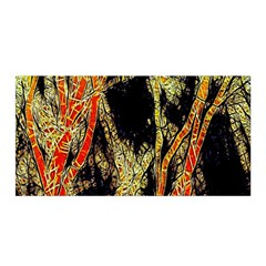 Artistic Effect Fractal Forest Background Satin Wrap by Amaryn4rt