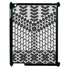 Flower Of Life Grey Apple Ipad 2 Case (black) by Cveti