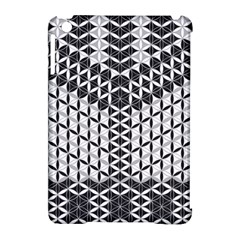 Flower Of Life Grey Apple Ipad Mini Hardshell Case (compatible With Smart Cover) by Cveti