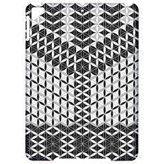 Flower Of Life Grey Apple Ipad Pro 9 7   Hardshell Case by Cveti