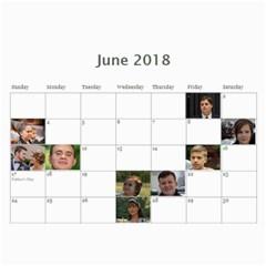 2018 By Juliapchelka15 Gmail Com   Wall Calendar 11  X 8 5  (12 Months)   Spshpx1vw7iy   Www Artscow Com Jun 2018