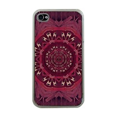 Leather And Love In A Safe Environment Apple Iphone 4 Case (clear) by pepitasart