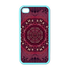Leather And Love In A Safe Environment Apple Iphone 4 Case (color) by pepitasart