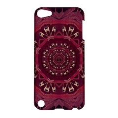 Leather And Love In A Safe Environment Apple Ipod Touch 5 Hardshell Case by pepitasart