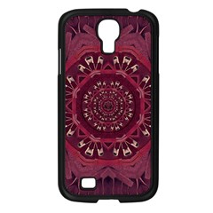 Leather And Love In A Safe Environment Samsung Galaxy S4 I9500/ I9505 Case (black) by pepitasart
