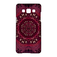Leather And Love In A Safe Environment Samsung Galaxy A5 Hardshell Case  by pepitasart