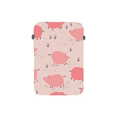 Pigs And Flowers Apple Ipad Mini Protective Soft Cases by allthingseveryday