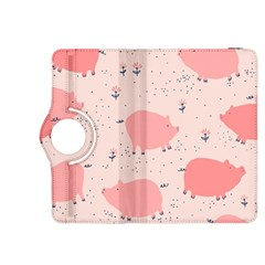 Pigs And Flowers Kindle Fire Hdx 8 9  Flip 360 Case by allthingseveryday