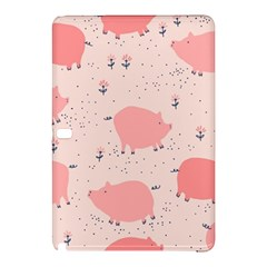 Pigs And Flowers Samsung Galaxy Tab Pro 12 2 Hardshell Case by allthingseveryday