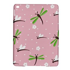 Dragonfly And White Flowers Pattern Ipad Air 2 Hardshell Cases by allthingseveryday