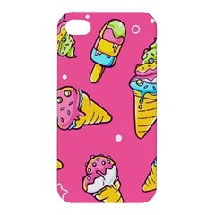Summer Ice Creams Flavors Pattern Apple Iphone 4/4s Hardshell Case by allthingseveryday