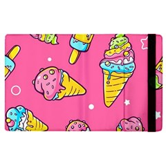 Summer Ice Creams Flavors Pattern Apple Ipad Pro 12 9   Flip Case by allthingseveryday