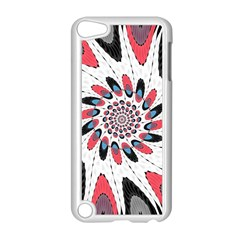 High Contrast Twirl Apple Ipod Touch 5 Case (white) by linceazul