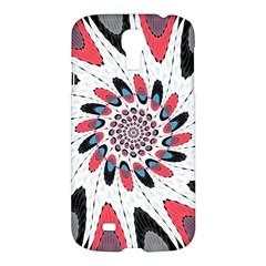 High Contrast Twirl Samsung Galaxy S4 I9500/i9505 Hardshell Case by linceazul