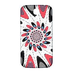 High Contrast Twirl Samsung Galaxy S4 I9500/i9505  Hardshell Back Case by linceazul