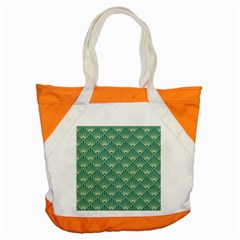 Green Fan  Accent Tote Bag by 8fugoso