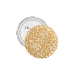 Yellow Peonines 1 75  Buttons by 8fugoso