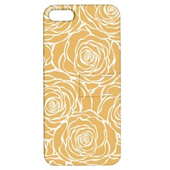 Yellow Peonines Apple Iphone 5 Hardshell Case With Stand by 8fugoso