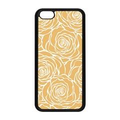 Yellow Peonines Apple Iphone 5c Seamless Case (black) by 8fugoso