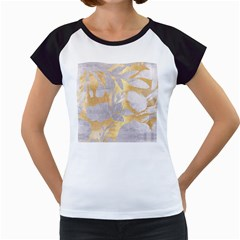 Gold Silver Women s Cap Sleeve T by 8fugoso