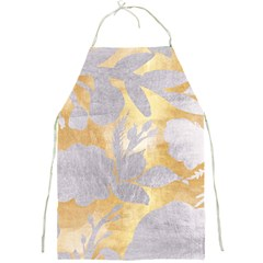 Gold Silver Full Print Aprons by 8fugoso
