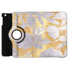 Gold Silver Apple Ipad Mini Flip 360 Case by 8fugoso