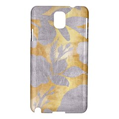 Gold Silver Samsung Galaxy Note 3 N9005 Hardshell Case by 8fugoso