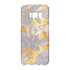 Gold Silver Samsung Galaxy S8 Hardshell Case  by 8fugoso