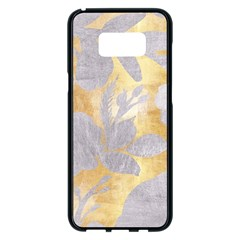Gold Silver Samsung Galaxy S8 Plus Black Seamless Case by 8fugoso