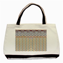 Flower Of Life Pattern 2 Basic Tote Bag by Cveti